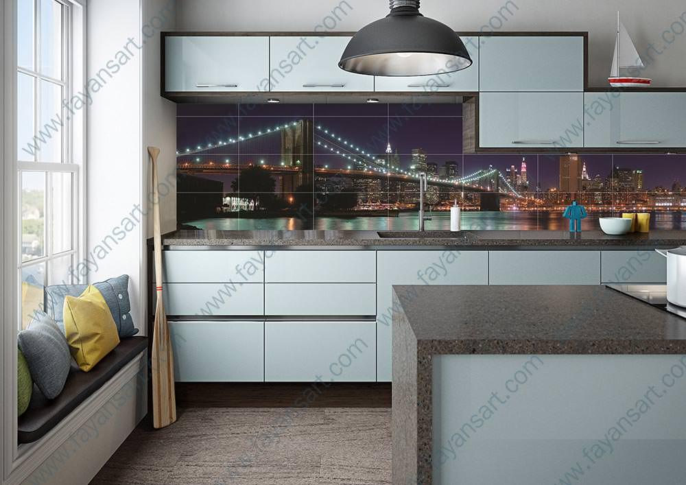 Custom Printed Kitchen Tile Models